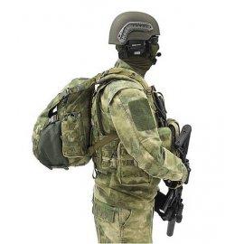 Kuprinė Helmet su skyriumi šalmui