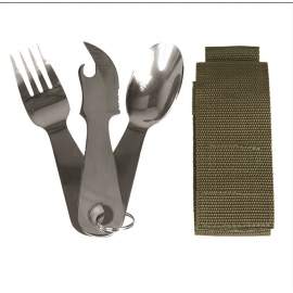 Eating Utensil Stainless Steel W. Pouch
