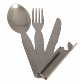 Army 3-PC Stainless Steel Eating Utens.